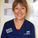 Picture Claire Smit, Matron for Cancer, Salisbury Hospital